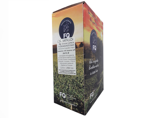 BAG-IN-BOX WHITE WINE TOSCANA IGT 12.5% – 3 LITRES <br> contains sulfites