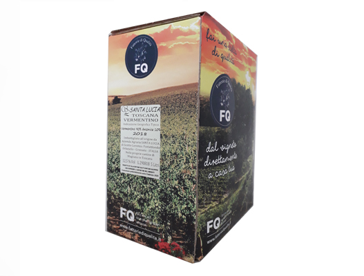 BAG-IN-BOX WHITE WINE TOSCANA IGT 12.5% – 5 LITRES <br> contains sulfites