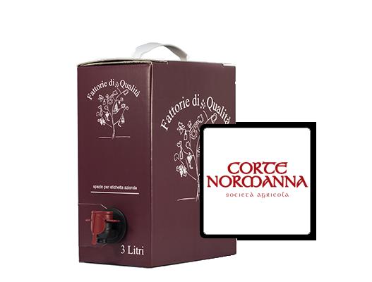 Vendita online vino in bag in box corte normanna 3 litri