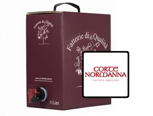 Vino Sfuso Bag in box Corte normanna 5 lt