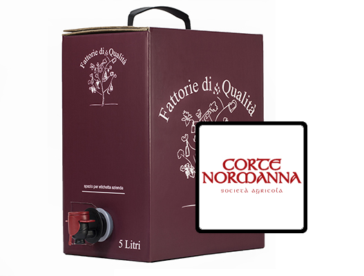 Vino Sfuso Bag in box Corte normanna 5 lt