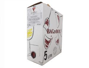 BAG IN BOX ROSSO NEGRAMARO SALENTO IGT 13% – 5 LITRI