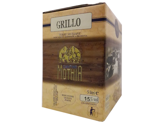 BAG IN BOX BIANCO GRILLO IGP TERRE