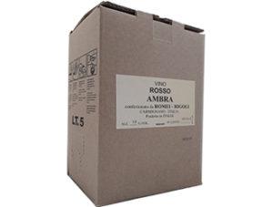 BAG-IN-BOX RED WINE AMBRA 13% vol. - 5 LITRES