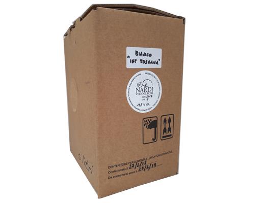 BAG IN BOX BIANCO TOSCANA IGT da Castellina in Chianti 12,5% – 5 LITRI contiene solfiti