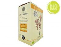 BAG IN BOX BIANCO PASSERINA IGT MARCHE BIOLOGICO 12% – 5 LITRI contiene solfiti