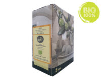 BAG IN BOX ORGANIC EXTRA VIRGIN OLIVE OIL TUSCANY – 3 LITERS