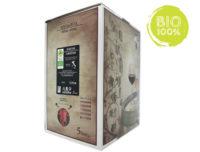 BAG IN BOX ROSSO BIOLOGICO SANGIOVESE IGP RUBICONE 12,5% – 5 LITRI contiene solfiti