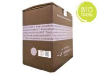 BAG IN BOX ROSSO SANGIOVESE BIOLOGICO TOSCANO IGT 13,5% – 5 LITRI contiene solfiti